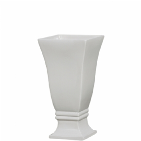 VASO QUADRADO M 3 OFF WHITE